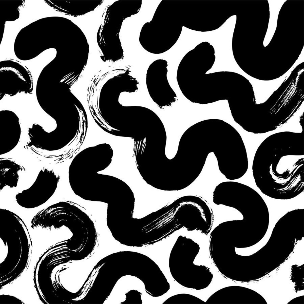 Squiggly Doodle Pattern Sample