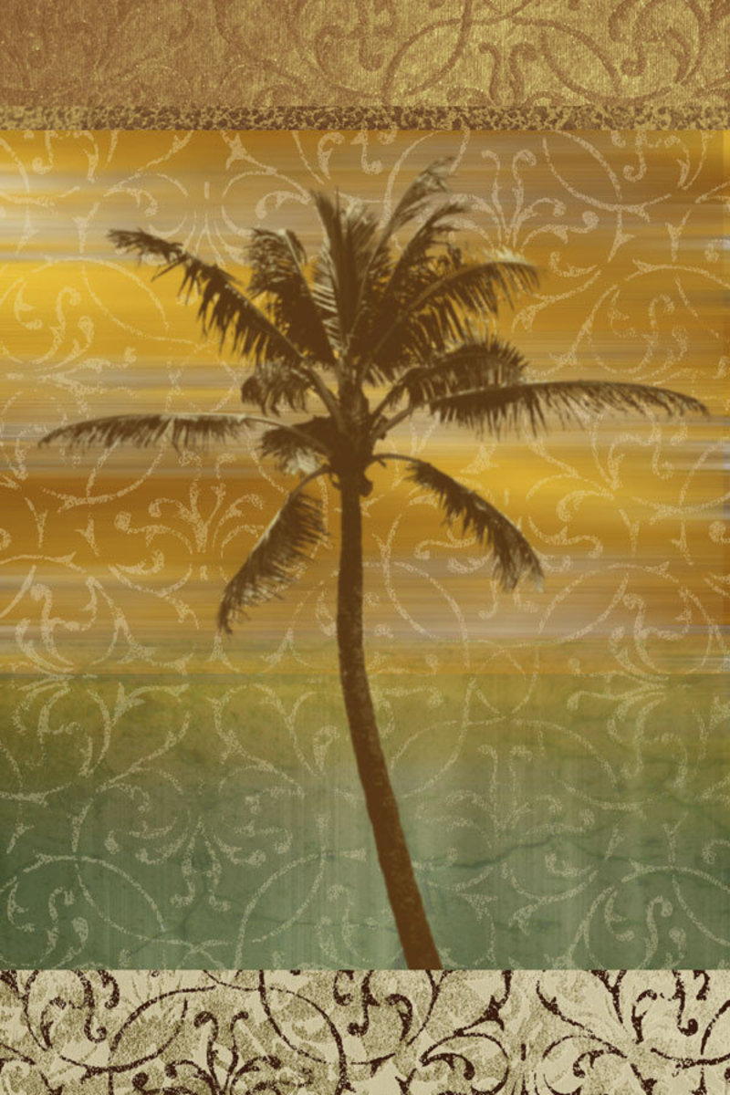 Image for Sunset Palm 1