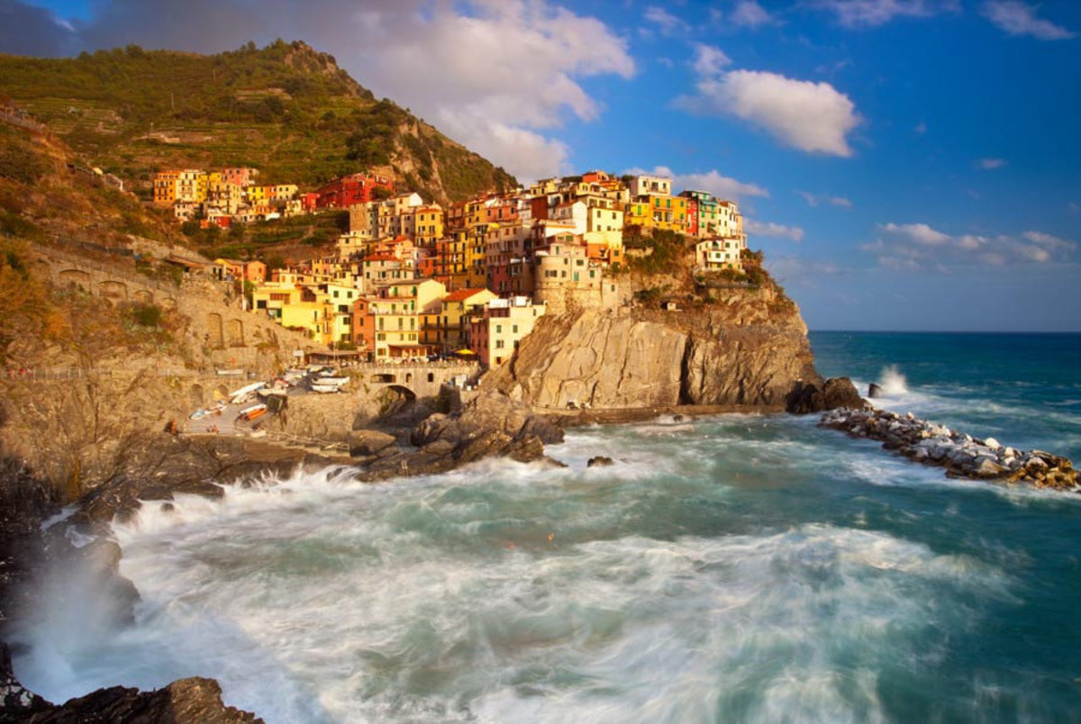 Image for Swirling Ocean in The Cinque Terre