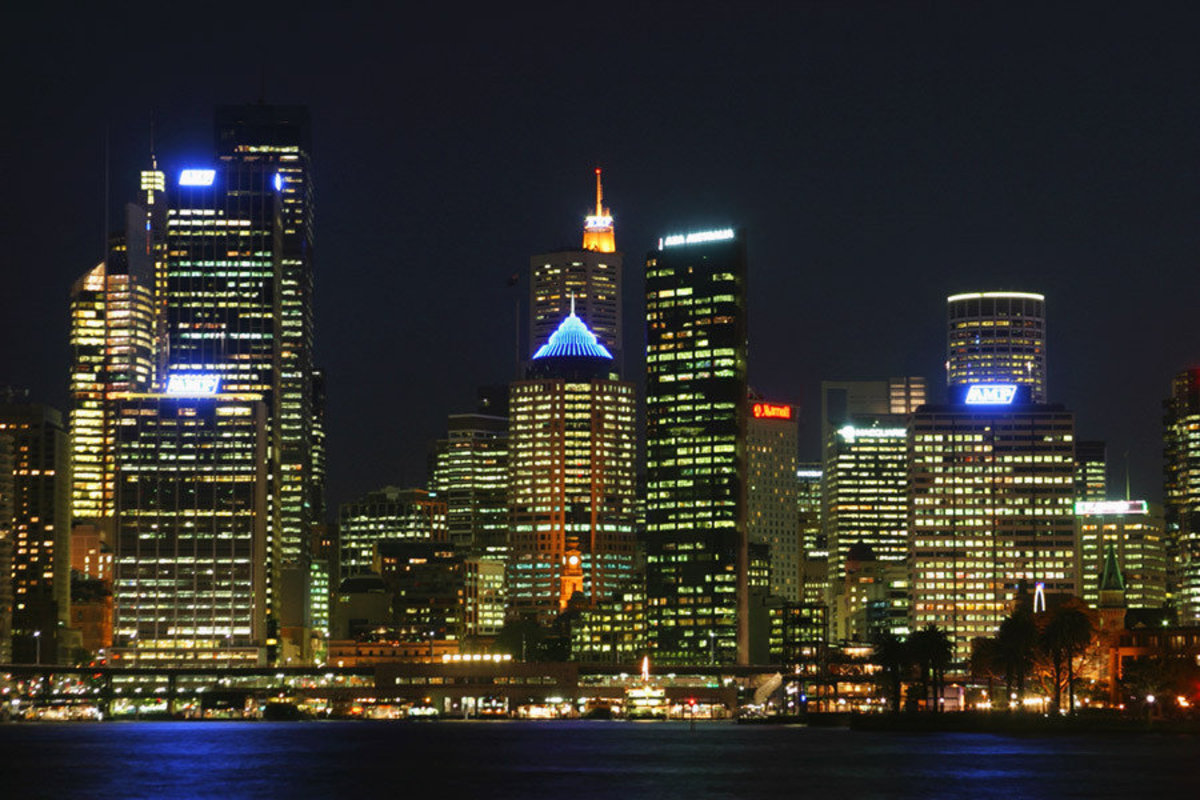 Sydney At Night Wallpaper Mural Additional Thumbnail