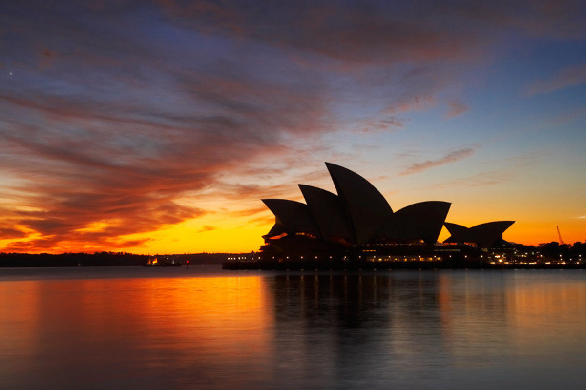 Image for Sydney Opera House At Dawn (Wall)