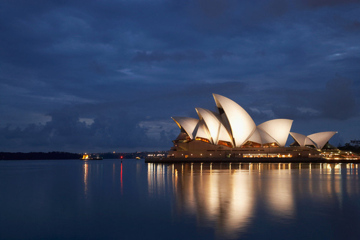 Image for Sydney Opera House On A Cloudy Dawn