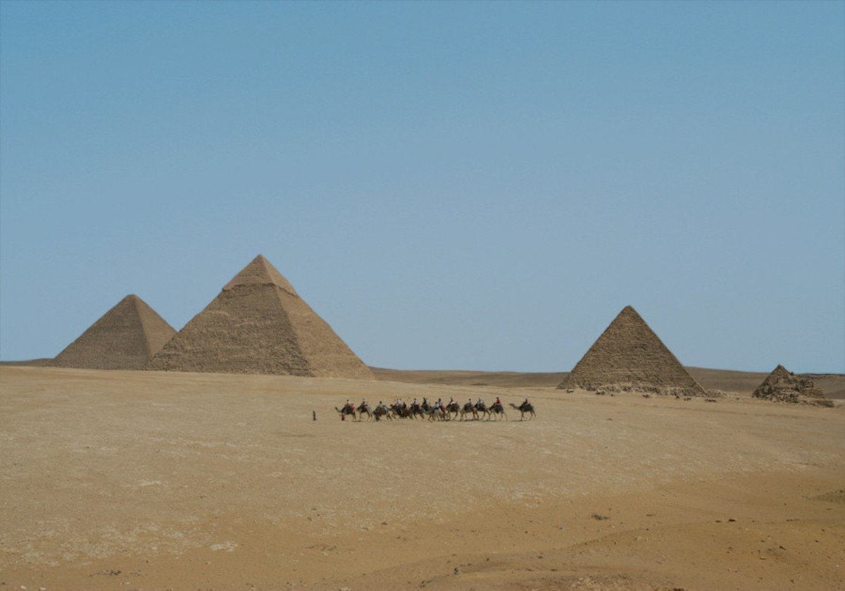 The Great Pyramids Of Egypt Wallpaper Mural