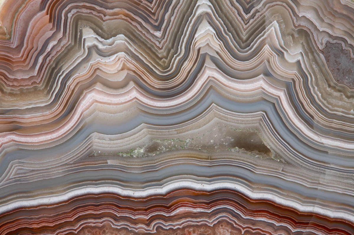 Image for The Polished Cut of Agate Wall Mural