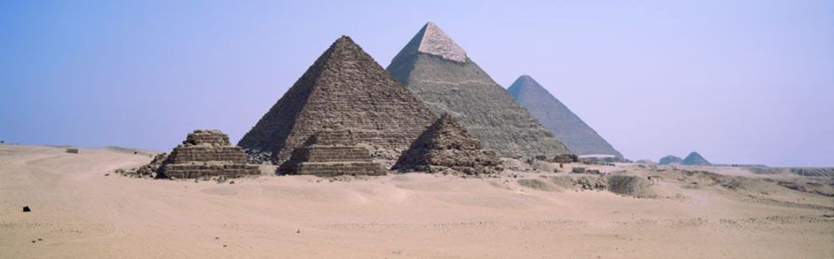 Image for The Pyramids Of Giza, Egypt
