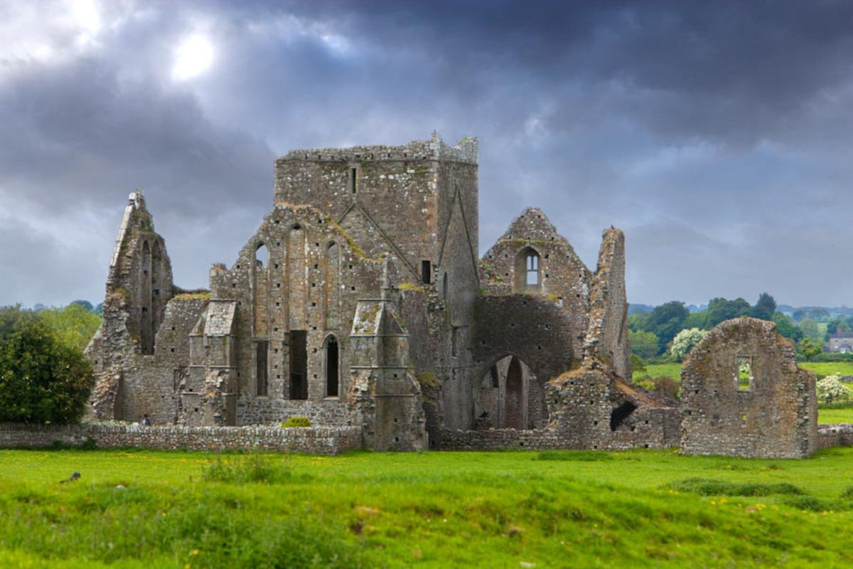 The Ruins of Hore Abbey, Ireland 2 Mural Wallpaper Sample
