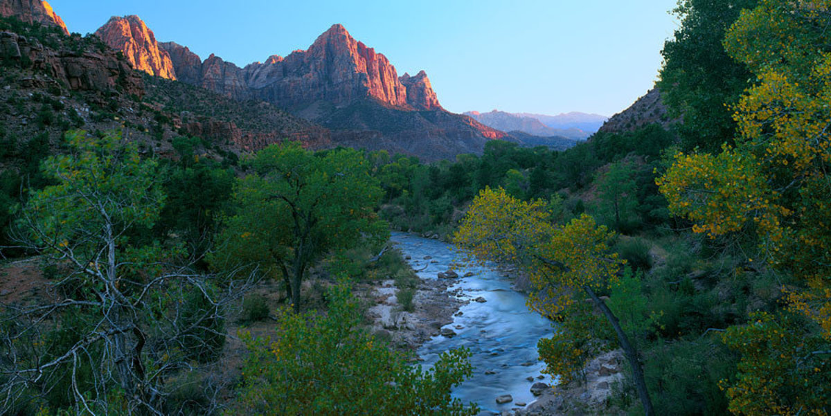 Image for The Watchman And Virgin River, Zion National Park, UT
