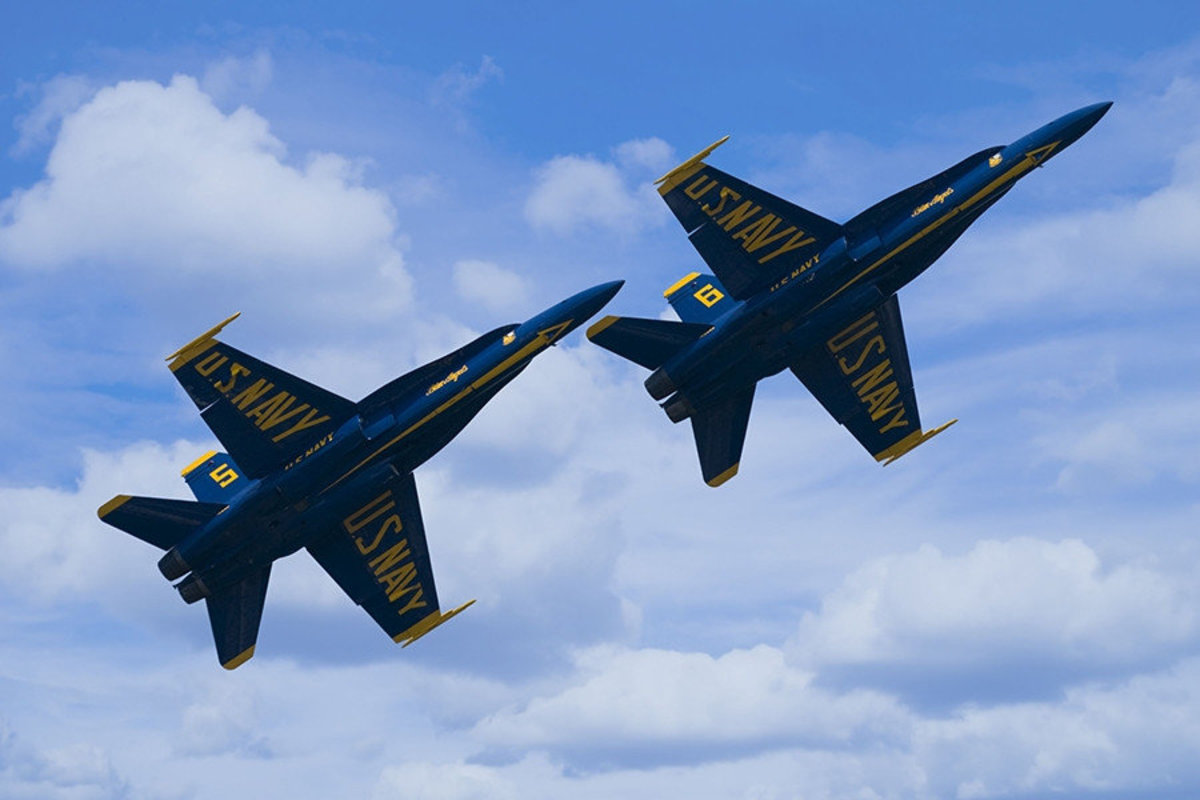 Image for Two F-A18 Hornets wall mural