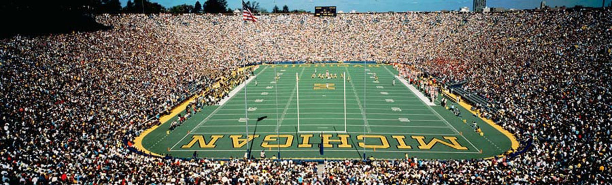 University Of Michigan Stadium, Ann Arbor Wall Mural Additional Thumbnail