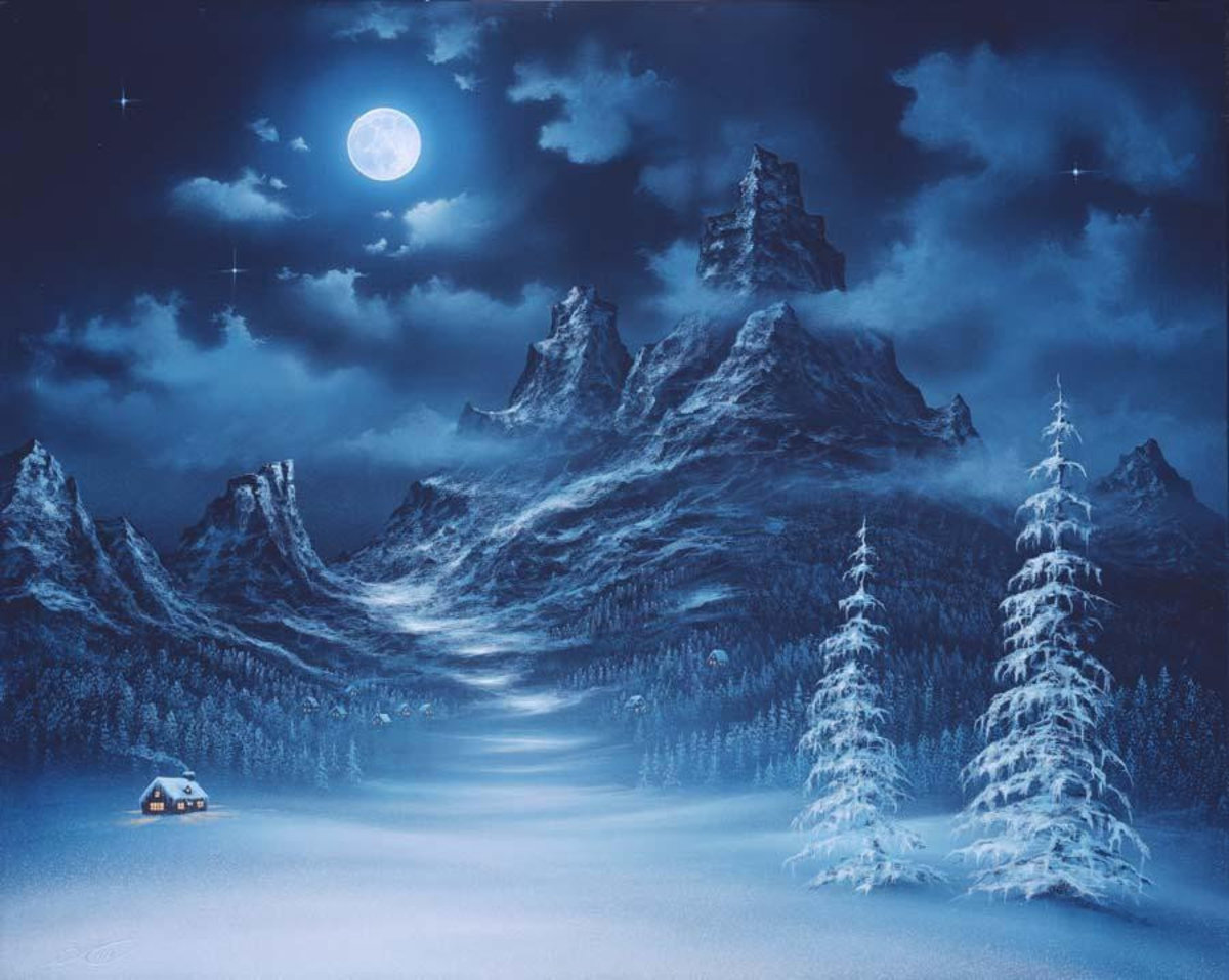 Valley Of The Moon Mural Wallpaper