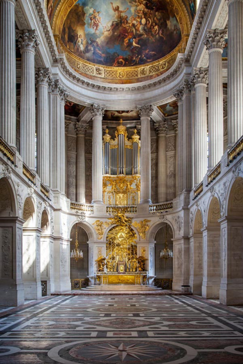 Image for Versailles Chapel Wall Mural