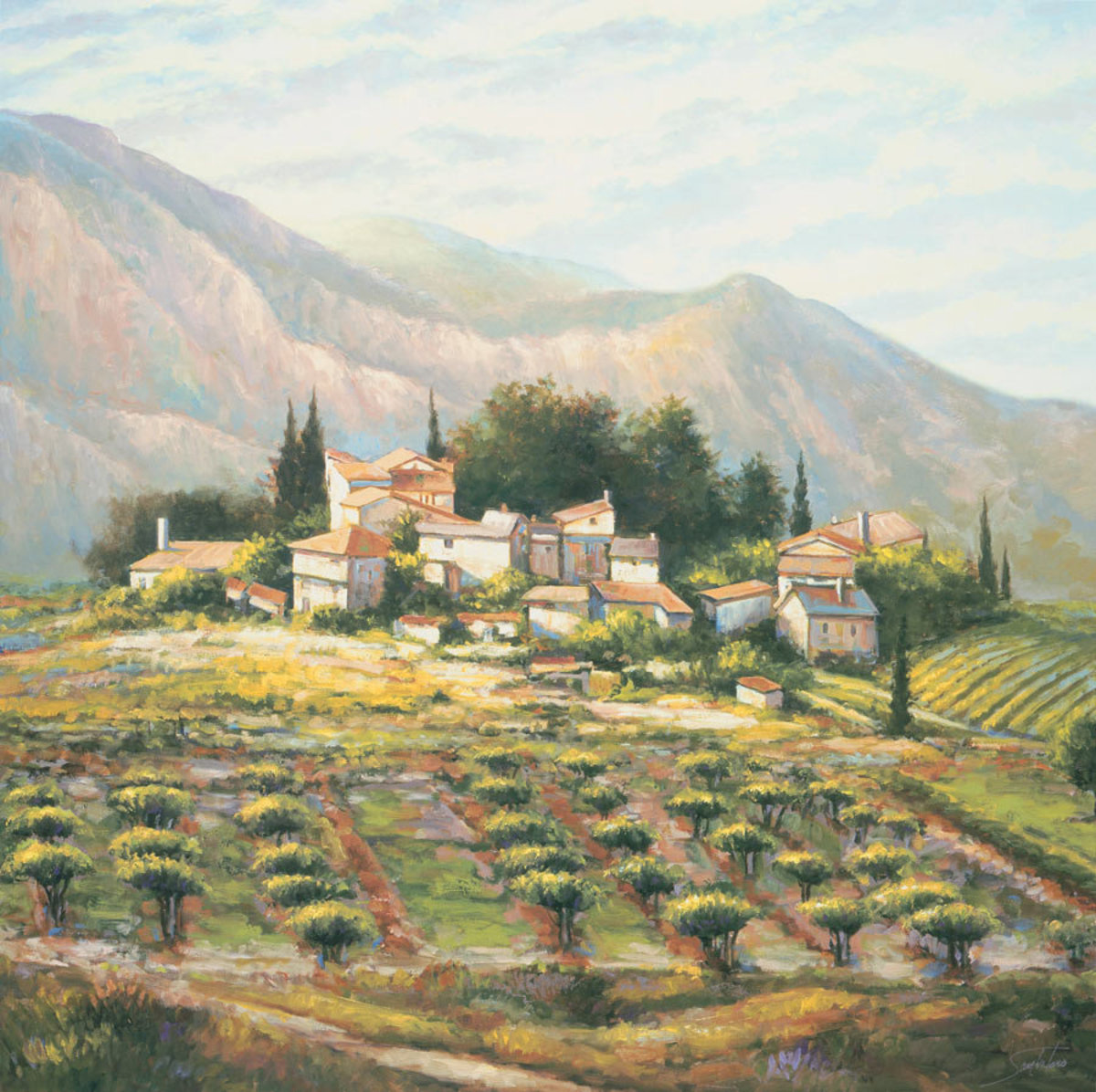 Village At Vaucluse Mural Wallpaper Additional Thumbnail