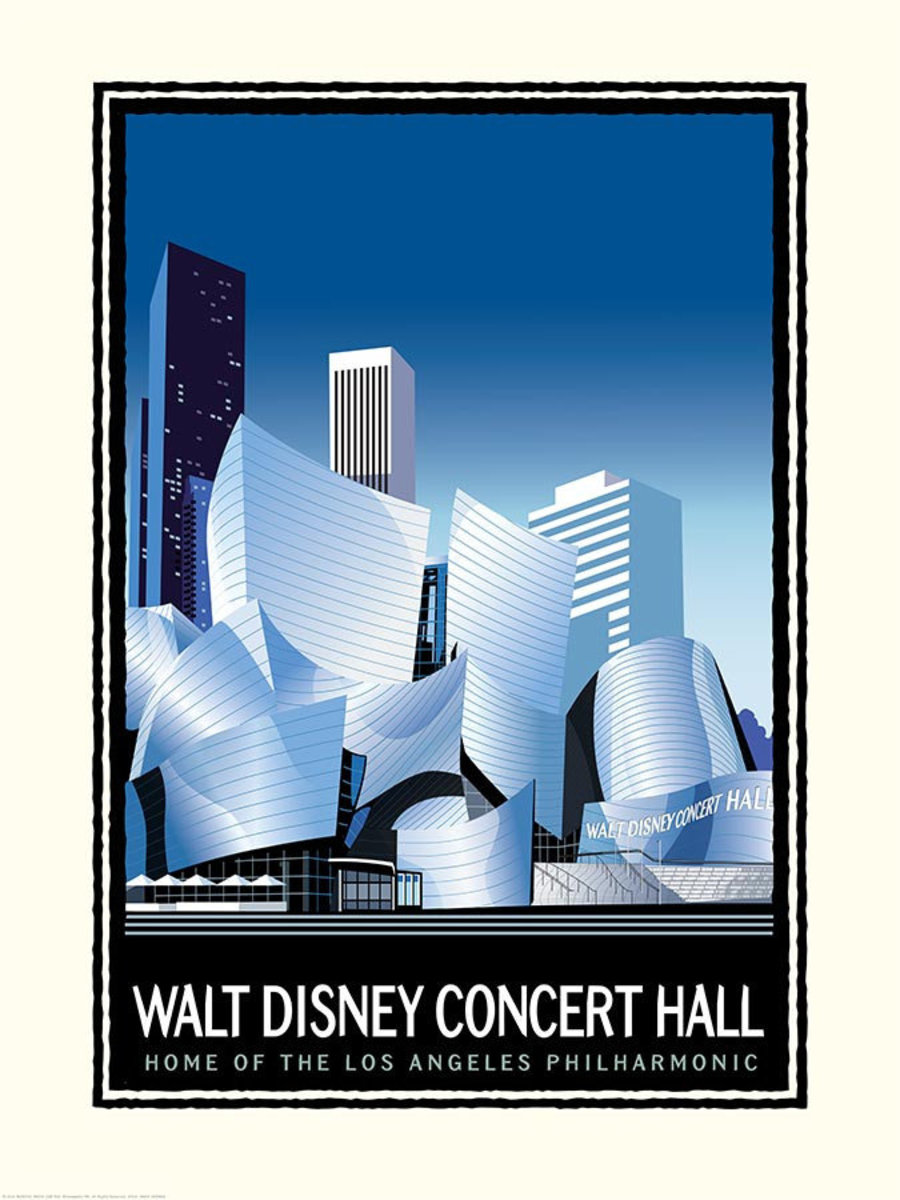 Walt Disney Concert Hall Wallpaper Mural Additional Thumbnail