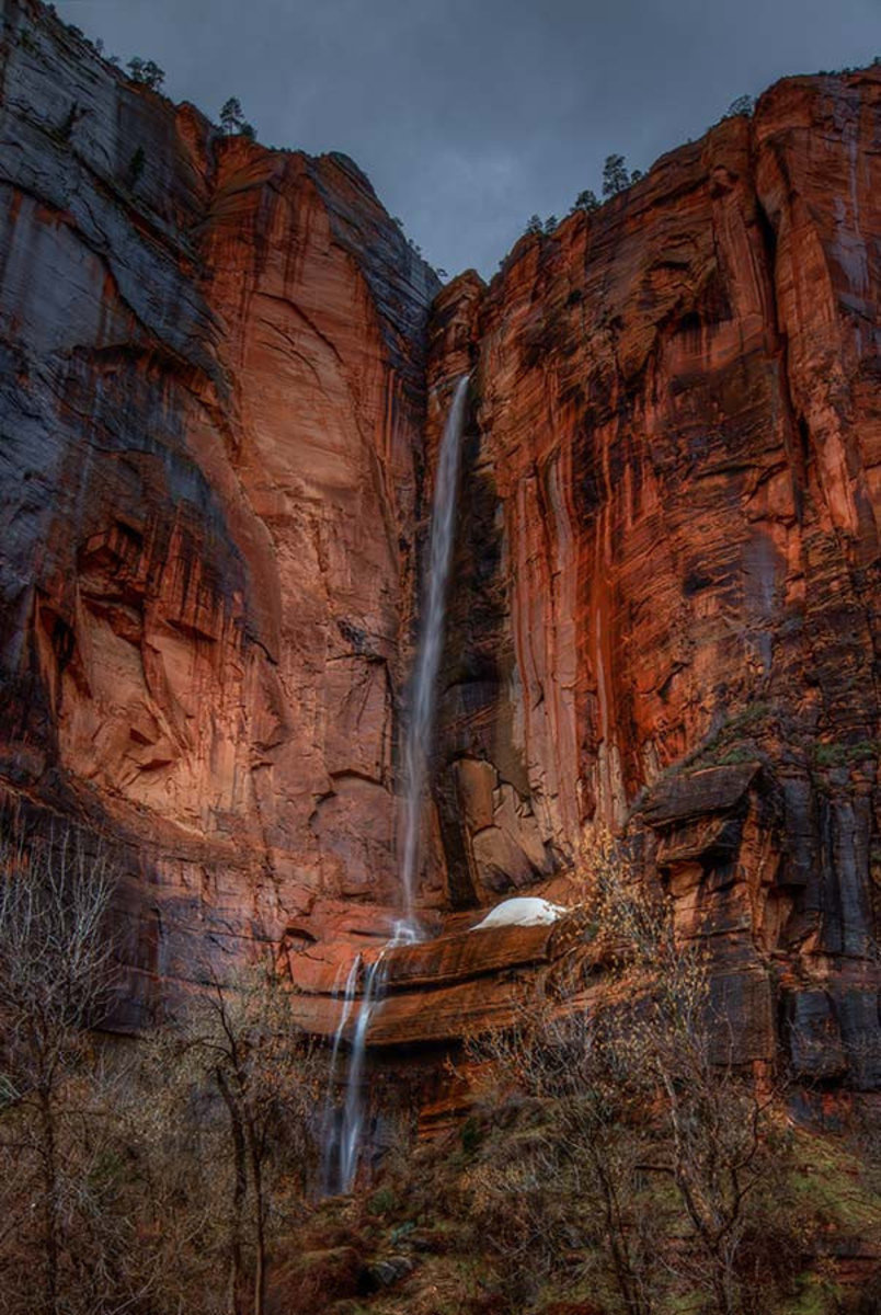 Waterfall Beauty At Zion Wall Mural Additional Thumbnail